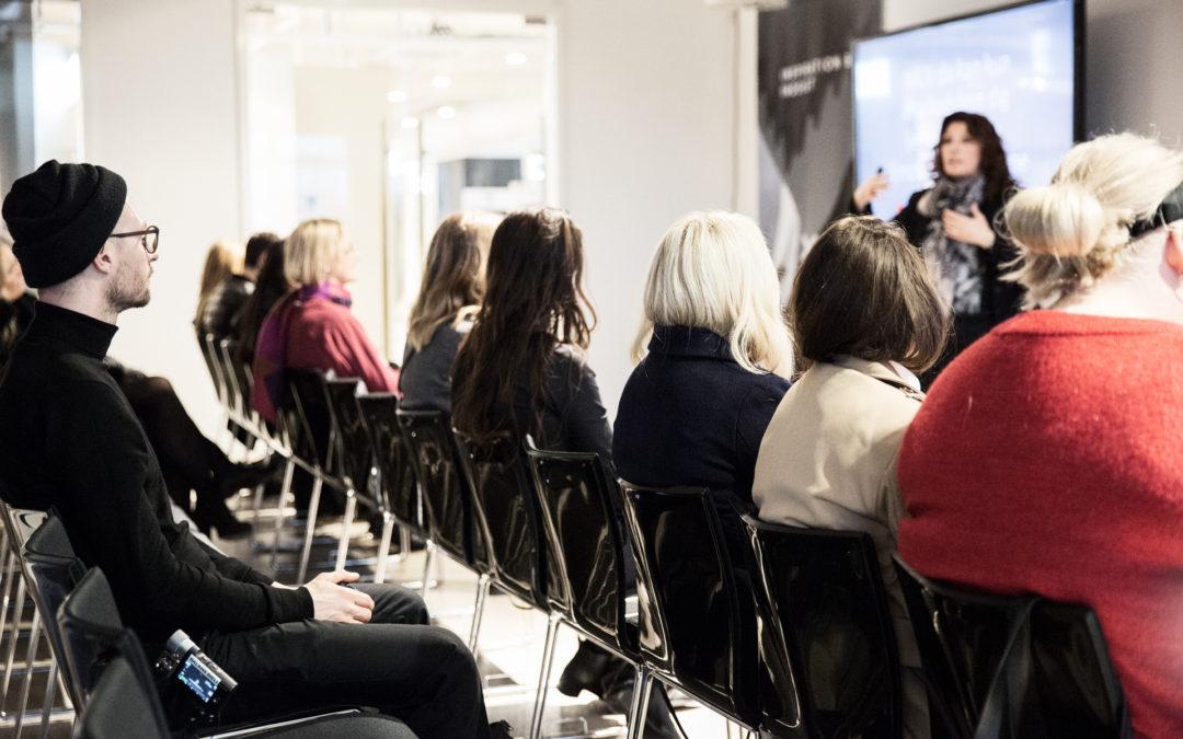 Foredrag på CIFF Modemessen A/W 2018