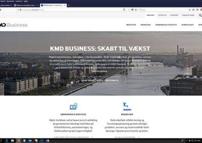 KMD: Tekster til nyt kmd.dk