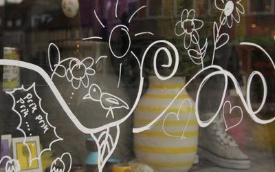 Dekoratøren og butikkens sjæl