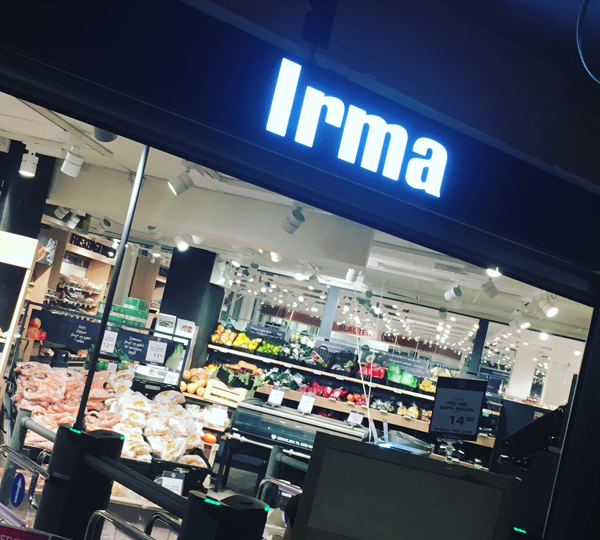 Visual merchandising kursus hos Irma