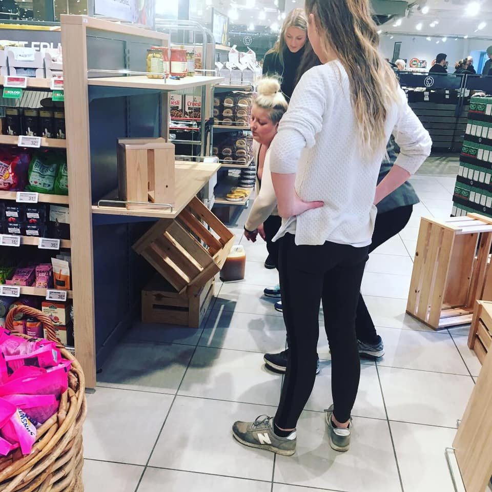 visual merchandising - praktiske øvelser i butikken