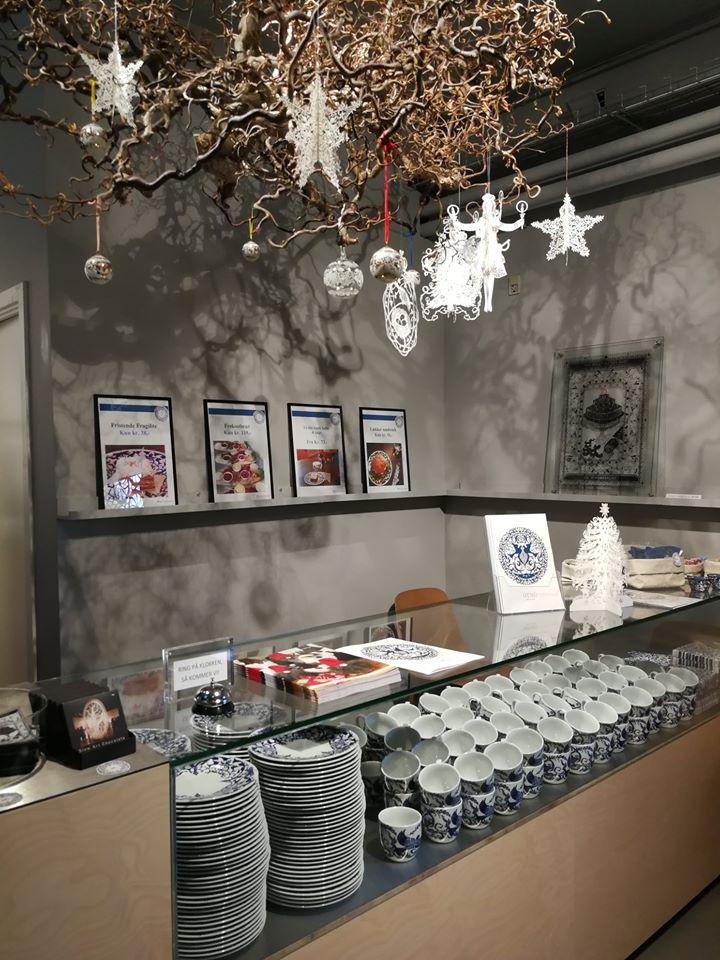 museum for papirkunst cafe